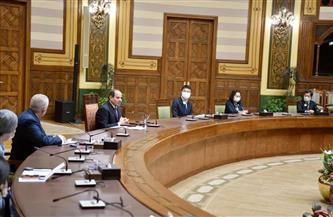 الرئيس السيسي يجتمع بالخبراء المشرفين على منظومة المدارس المصرية اليابانية