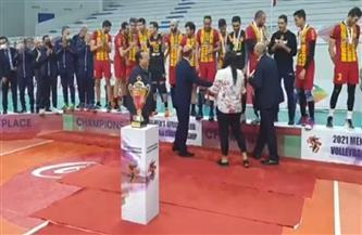 الترجي التونسي يفوز على الزمالك ويتوج بلقب بطولة إفريقيا للكرة الطائرة| فيديو