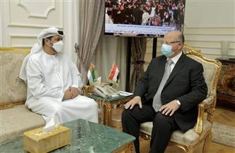 محافظ القاهرة والسفير الإماراتي يبحثان تعزيز الشراكة.. والشامسي: دعم مطلق وتفاهم غير محدود