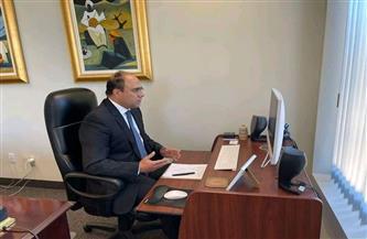سفير مصر في كندا يجرى لقاءات مكثفة مع أعضاء البرلمان الكندى بشأن سد النهضة| صور