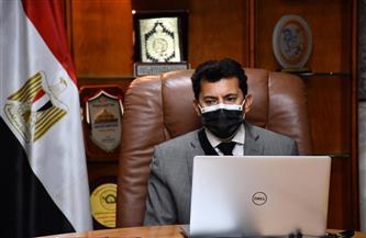 وزير الرياضة يلتقي مجلس إدارة المنظمة المصرية لمكافحة المنشطات | صور