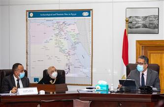 قرارات جديدة لمجلس إدارة الأعلى للآثار| صور