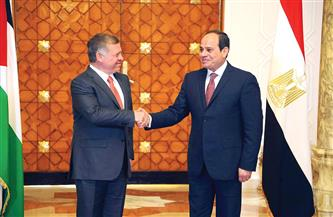 علاقات سياسية عميقة تجمع الرئيس السيسي والملك عبد الله الثاني.. 100 عام على تأسيس المملكة الأردنية