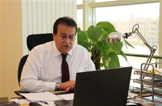 وزير التعليم العالى يوجه باستمرار رفع درجة استعدادات المستشفيات الجامعية لمواجهة كورونا