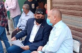نائب محافظ القاهرة يلتقي بمواطني محور مسطرد لبحث المستحقين للتعويض