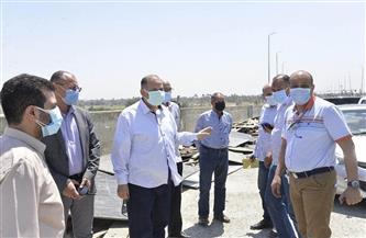 محافظ أسيوط يتفقد أعمال تنفيذ محور ديروط التنموي على النيل بتكلفة مليار و700 مليون جنيه   صور