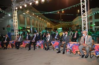 رئيس جامعة أسيوط يشهد إحدى وقائع برنامج ليالي رمضان في القرية الأولمبية| صور