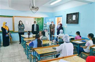 وكيل تعليم البحيرة: انتهاء امتحانات النقل دون شكاوى من الطلاب | صور
