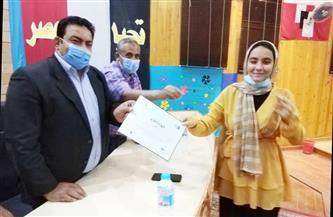 تكريم فرسان تحدي القراءة العربي في الوادي الجديد  صور