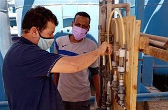 مياه القناة: صيانة منظومة الكلور في محطات بورسعيد والإسماعيلية والسويس استعدادًا لفصل الصيف | صور