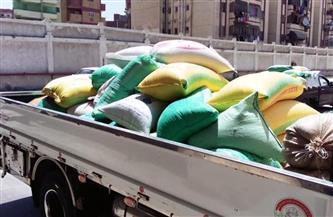 ضبط 2.400 طن قمح مستورد أثناء توريدها إلى شون بورسعيد | صور