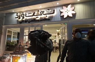 تحرير 19 محضرًا ومصادرة 89 «شيشة» في حملة ليلية بالدقي   صور