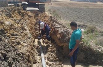 فرق الصيانة الفنية تنتهي من إصلاح خطوط مياه الشرب بمحافظات القناة