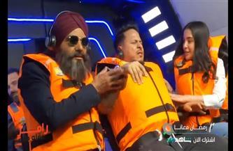صراخ وانهيار كريم عفيفي في «رامز عقله طار» | صور وفيديو