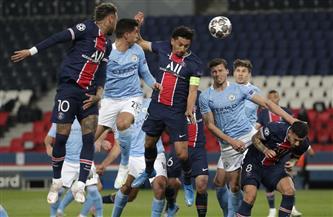 انطلاق مباراة مانشستر سيتى وسان جيرمان بنصف نهائى أبطال أوروبا