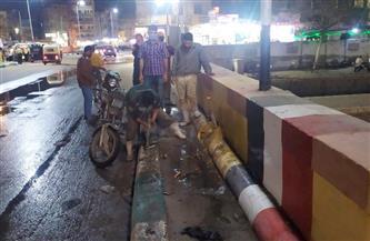 حي ثاني الزقازيق: إصلاح كسر في مأسورة مياه | صور