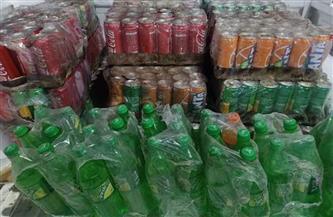 ضبط 500 عبوة مشروبات غازية وكانز  منتهية الصلاحية بالأقصر| صور