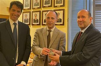 مصر تسترد قطعتين أثريتين من إيطاليا من العصور اليونانية والرومانية