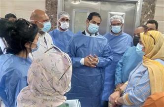 تحويل مستشفى 30 يونيو جنوب بورسعيد لمستشفى عزل | صور