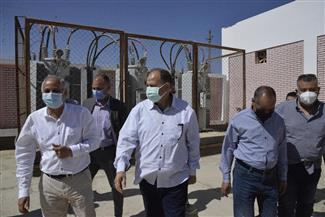 محافظ أسيوط يتفقد محطة معالجة صرف صحي ديروط بتكلفة 620 مليون جنيه |صور