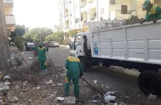 حملات مكثفة لنظافة شوارع وأحياء مدينة الغردقة | صور