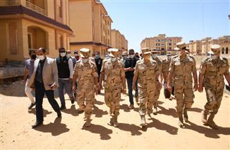 رئيس أركان حرب القوات المسلحة يتفقد الحالة الأمنية ويلتقى رجال القوات المسلحة بشمال سيناء