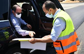الرئيس السيسي يتفقد شبكة الكباري والمحاور الرئيسية الجديدة التي تم تنفيذها في حي مدينة نصر