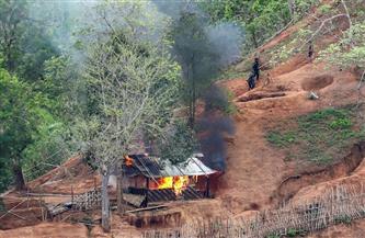 إطلاق صواريخ على قاعدتين جويتين في ميانمار دون إصابات بشرية
