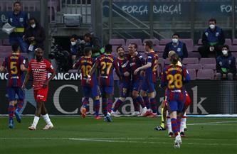 برشلونة يتقدم على غرناطة بهدف ميسى فى الشوط الأول