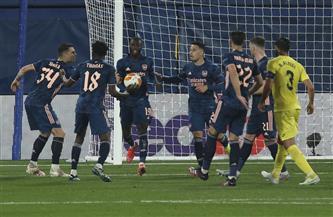 النني بديلًا.. أرسنال يخسر من فياريال في ذهاب نصف نهائي الدوري الأوروبي