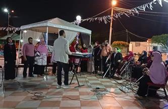 فرقة التمكين الثقافي لذوي الهمم تحيي ليلة رمضانية بحديقة صنعاء بكفر الشيخ | صور