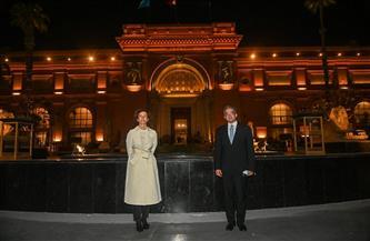 """رئيسة اليونسكو تتوجه إلى أسوان بعد مشاركتها في """"موكب المومياوات الملكية"""""""