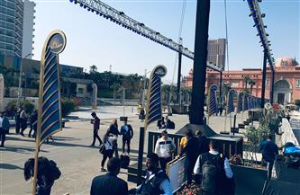 شاهد استعدادات مراسم نقل المومياوات الملكية من متحف التحرير إلى «الحضارة» | صور