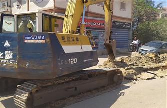 بدء أعمال الحفر لإنشاء أول محطة غاز طبيعي لتمويل السيارات بمدينة بيلا بكفر الشيخ |صور