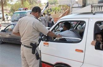تحرير 471 مخالفة مرورية في حملة على الطرق بالغربية