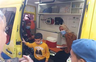صحة الأقصر تعلن نجاح الجرعة الثانية من الحملة القومية للتطعيم ضد شلل الأطفال  |صور