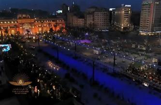 بث مباشر.. موكب المومياوات الملكية ينطلق من التحرير إلى متحف الحضارة