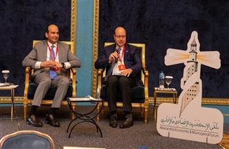ملتقى الإسكندرية الاقتصادي: قناة السويس أبهرت العالم في التعامل مع أزمة السفينة الجانحة |صور