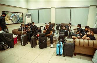 بعثة «الأهلي» تغادر السودان عائدة إلى القاهرة