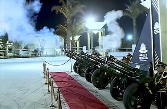 المدفعية تطلق 21 طلقة احتفالا بوصول «المومياوات الملكية» إلى المتحف القومي للحضارة