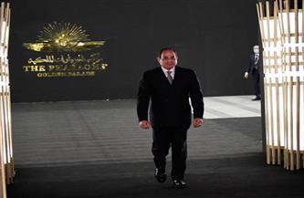 المتحدث الرئاسي ينشر صور رحلة المومياوات الملكية بحضور الرئيس السيسي