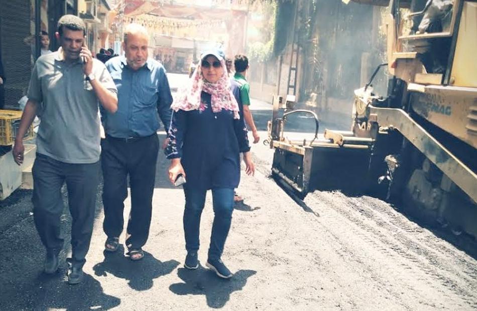 متابعات ميدانية لأعمال التطوير بمراكز محافظة المنوفية  صور