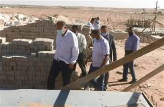 محافظ أسيوط يتفقد أعمال تنفيذ المحطة الانتقالية الوسيطة للمخلفات الصلبة بدشلوط| صور
