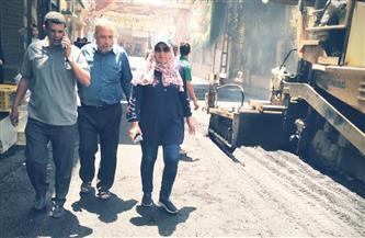 متابعات ميدانية لأعمال التطوير بمراكز محافظة المنوفية| صور