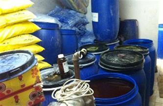 ضبط 100 كيلو صابون مجهولة المصدر في أحد مصانع العاشر من رمضان