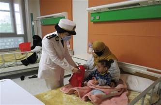 الداخلية تُشارك الأطفال المرضى الاحتفال بشهر رمضان |صور