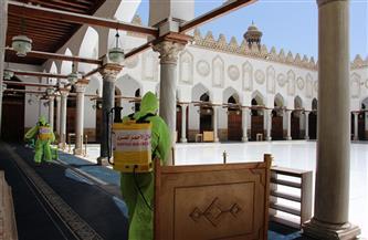الهلال الأحمر يبدأ المرحلة الثانية من عملية تعقيم المساجد في ٢٠ محافظة  صور