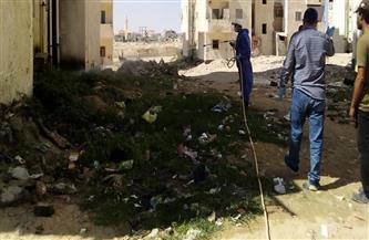 حملة لمكافحة القوارض في حي الخليفة
