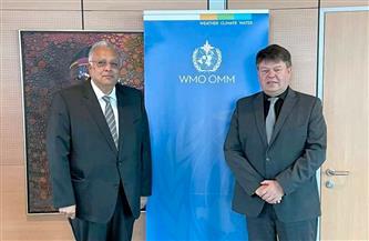 مندوب مصر بالأمم المتحدة يناقش سُبل تعزيز التعاون في مجالات الرصد والتنبؤ والتقييم فيما يتعلق بالأرصاد الجوية