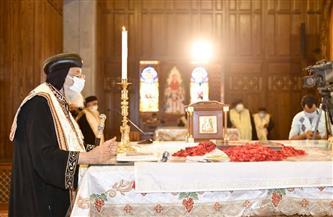 ختام الجمعة العظيمة بالكاتدرائية المرقسية